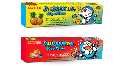 DORAEMON STICK Gum launched