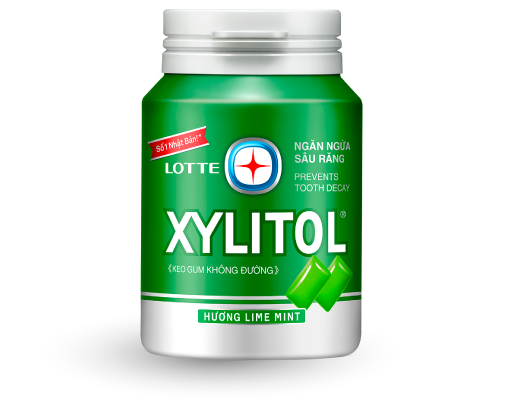 LOTTE XYLITOL Gum design & quality renewal