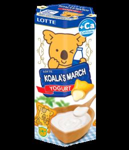 Thực phẩm bổ sung: Bánh gấu Koala's March hương Yogurt
