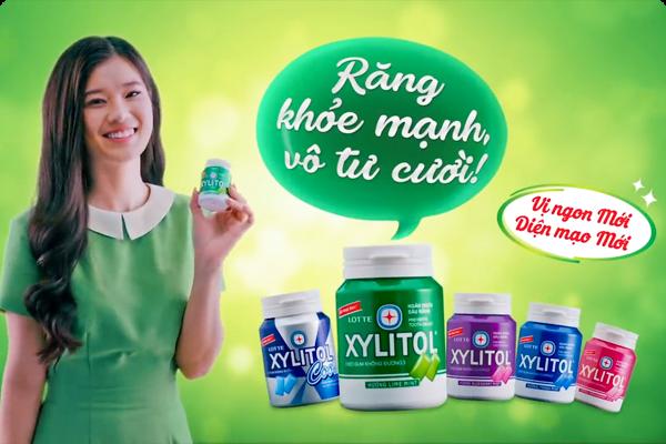 Lotte Xylitol – răng khỏe mạnh, vô tư cười!