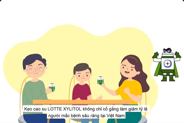 Lotte Xylitol – vì một Việt Nam tươi đẹp