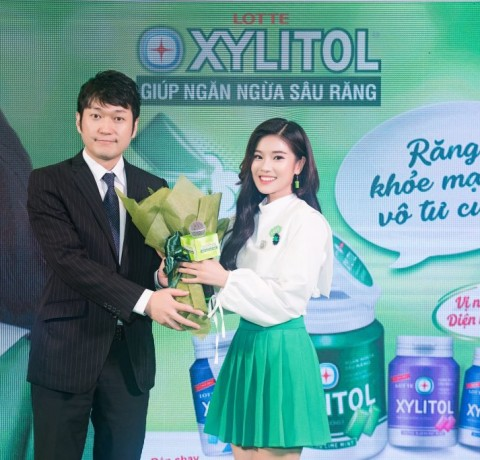 LOTTE XYLITOL's PR event at Ho Chi Minh City and Ha Noi City