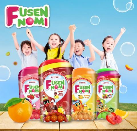 Thiết kế bao bì mới của Fusen No Mi