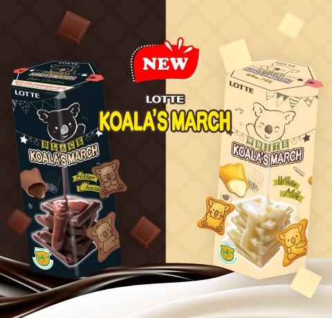 Tung bánh quy Koala's March vị mới