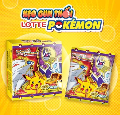 Ra mắt kẹo gum Lotte Pokémon đồng xu – Mùa 5 (series 5)