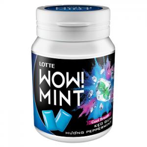 Kẹo gum LOTTE WOW!MINT hương peppermint