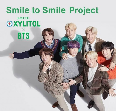 """LOTTE XYLITOL """"Smile to Smile Project"""""""